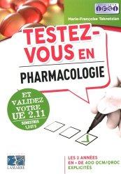 Souvent acheté avec Sup'Foucher Infirmier Processus Tumoraux UE 2.9. Semestre 5, le Testez-vous en pharmacologie et validez votre UE 2.11