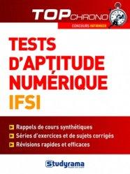 Souvent acheté avec Concours infirmier, le Tests d'aptitude numérique IFSI