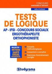 Souvent acheté avec Le métier d'infirmière en France, le Tests de logique