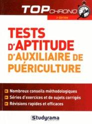 Souvent acheté avec Entrainement aux tests d'aptitude logique, d'organisation et d'attention, le Tests d'aptitude auxiliaire de puériculture