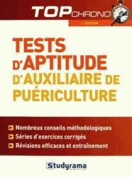 Souvent acheté avec Annales corrigées Concours AP 2014-2015, le Tests d'aptitude auxiliaire de puériculture