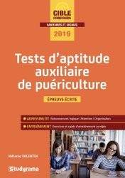 Dernières parutions sur Concours d'entrée AS - AP, Tests d'aptitude auxiliaire de puériculture