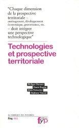 Dernières parutions dans La fabrique des possibles, Technologies et prospective territoriale