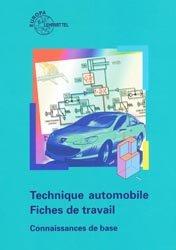 Dernières parutions sur Revue Technique Automobile, Technique automobile - Fiches de travail