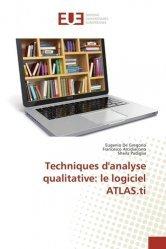 Dernières parutions sur Tests, Techniques d'analyse qualitative : le logiciel ATLAS.ti