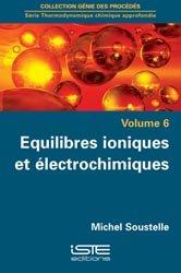 Dernières parutions sur Thermodynamique, Thermodynamique chimique approfondie Volume 6