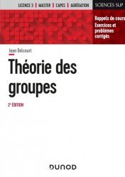 Dernières parutions sur Algèbre, Théorie des groupes