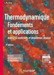 Dernières parutions dans Hors collection, Thermodynamique