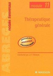 Souvent acheté avec Santé et environnement - Maladies transmissibles, le Thérapeutique générale