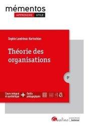 Dernières parutions dans Mémentos LMD, Théorie des organisations