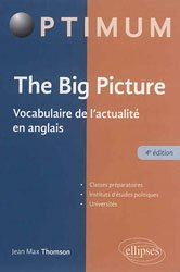 Dernières parutions sur Vocabulaire, The Big Picture