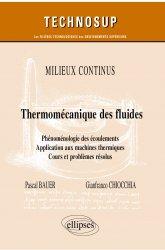 Dernières parutions dans Technosup, Thermo-mécanique des fluides
