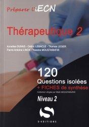 Dernières parutions dans 120 questions isolées, Thérapeutique - Tome 2 Niveau 2