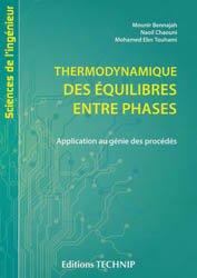 Dernières parutions sur Thermodynamique, Thermodynamique des équilibres entre phases