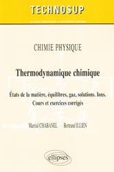 Souvent acheté avec Métallurgie mécanique, le Thermodynamique chimique