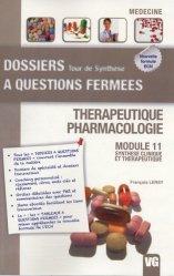 Souvent acheté avec Conférences de consensus et recommandations 2009-2010, le Thérapeutique - Pharmacologie