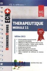 Souvent acheté avec Conférences de consensus et textes officiels de 2000 à 2012, le Thérapeutique - Module 11