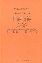 Dernières parutions dans Nouvelle bibliothèque mathématique, Théorie des ensembles
