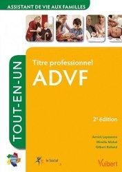 Dernières parutions sur ADVF - DEAF - DECESF, Titre professionnel  ADVF