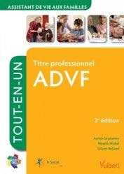 Nouvelle édition Titre professionnel  ADVF