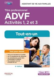 Dernières parutions dans Itinéraires pro, Titre professionnel ADVF - Activités 1 à 3
