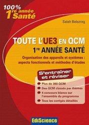 Souvent acheté avec Chimie organique et isomérie, le Toute l'UE3 en QCM