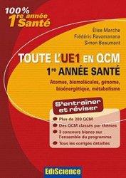 Souvent acheté avec Psychologie - Sociologie & Droit  UE7, le Toute l'UE1 en QCM