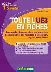 Souvent acheté avec Biochimie Tome 2  UE1, le Toute l'UE3 en fiches 1re année Santé