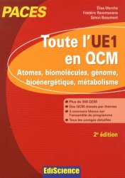 Souvent acheté avec Électromagnétisme UE 3.1 - Vol 1, le Toute l'UE1 en QCM
