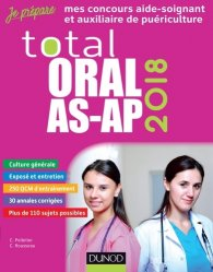Souvent acheté avec Concours IFSI : l'épreuve orale 2017-2018, le Total Oral AS-AP 2018