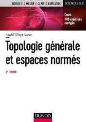 Dernières parutions sur Topologie, Topologie générale et espaces normés
