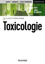 Dernières parutions sur Pharmacie, Toxicologie