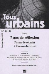 Dernières parutions dans Tous urbains, tous urbains n.30 (2020)