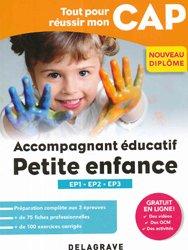 Dernières parutions sur CAP- BEP Petite enfance, Tout pour réussir mon CAP Accompagnant éducatif petite enfance