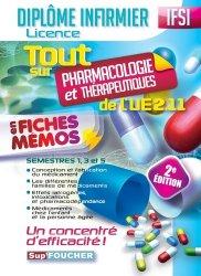Nouvelle édition Tout sur Pharmacologie et Thérapeutiques de l'UE 2.11 en fiches mémos