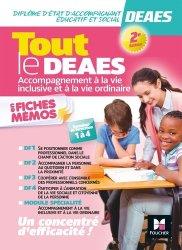 Dernières parutions sur DEAES (ex-DEAMP / DEAVS), Tout le DEAES - Accompagnement à l'éducation inclusive et à la vie ordinaire