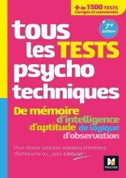 Nouvelle édition Tous les tests psychotechniques