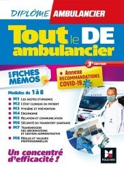 Dernières parutions sur Paramédical, Tout le DE Ambulancier en fiches mémos
