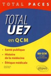 Souvent acheté avec Santé, société, humanité UE7 (Paris XIII), le Total UE7 en QCM Santé, Société, Humanité,