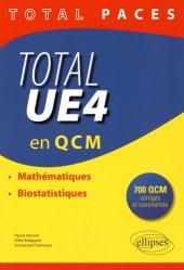 Souvent acheté avec Probabilités, statistiques, le Total UE4 en QCM mathématique, biostatistique