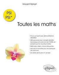 Dernières parutions sur 1ère année, Toutes les maths en PSI-PSI*