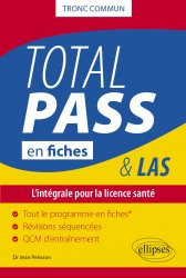 Dernières parutions sur PACES - PASS - LAS - MMOP, Total PASS en fiches