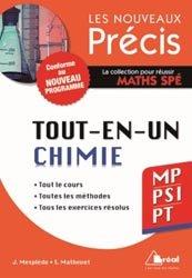 Dernières parutions dans Les nouveaux précis, Tout-en-un Chimie MP PSI PT