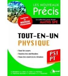 Dernières parutions dans Les nouveaux précis, Tout-en-un Physique PSI PT