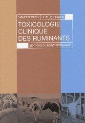 Dernières parutions sur Biologie  - Toxicologie - Virologie - Parasitologie, Toxicologie clinique des ruminants