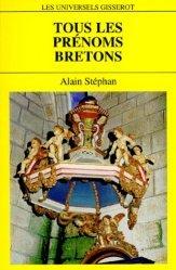 Dernières parutions dans Les Universels Gisserot, Tous les prénoms bretons
