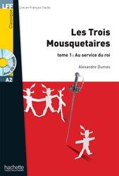 Dernières parutions sur Lectures simplifiées, TROIS MOUSQUETAIRES TOME 1 A2 + CD