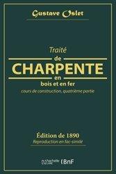 Dernières parutions sur Charpente - Couverture, Traité de charpente en bois