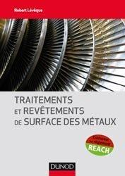 Dernières parutions sur Métallurgie - Fonderie, Traitements et revêtements de surface des métaux