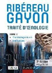 Dernières parutions sur Récolte et vinification, Traité d'oenologie - Tome 1